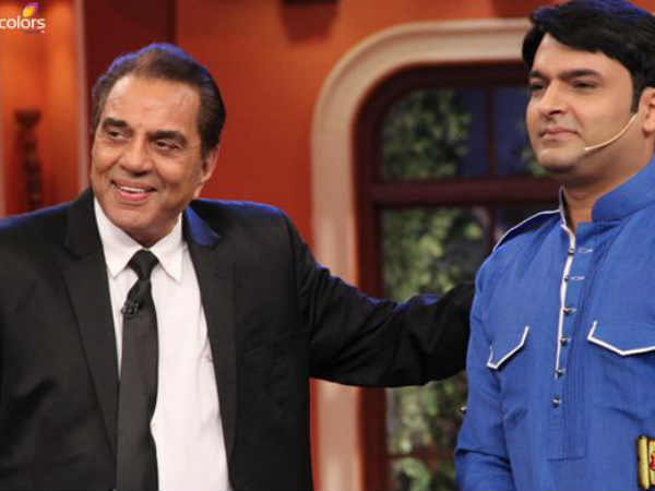 Comedy Nights Live:Colors Chops Off Dharmendra's Praise For Kapil Sharma; Checkout What He Did Later