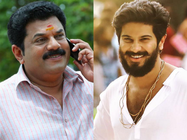 Dulquer Salmaan & Mukesh Team Up For Sathyan Anthikad