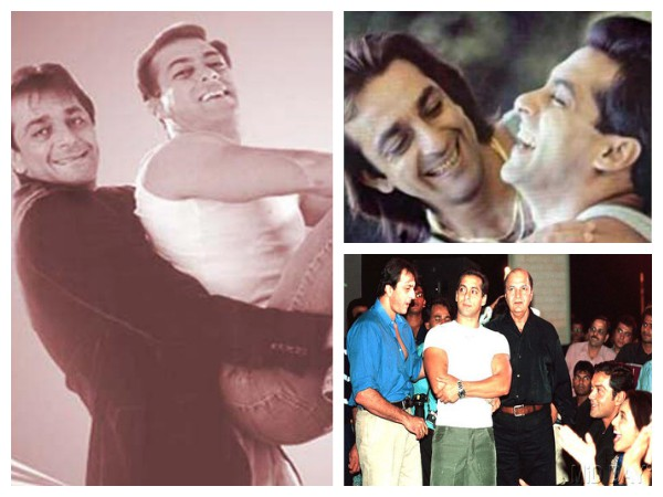 HEART-WRENCHING UNSEEN PICS Of Salman Khan And Sanjay Dutt's 25 Years Of Friendship