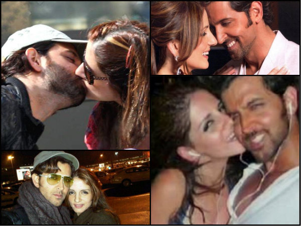 PICS: Hrithik-Suzzanne SMOOCHING In Public & Their PDAs!