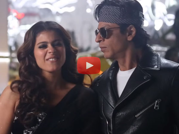 Shahrukh Khan And Kajol's Accidental Kiss