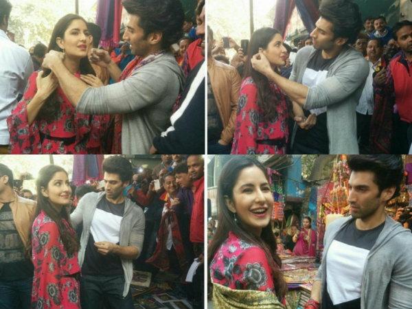 Katrina & Aditya Go Street Shopping In Delhi, Janpath Street