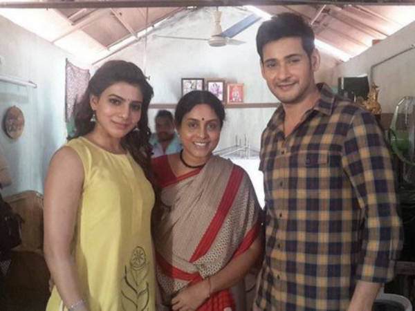 Check Out More Pics Mahesh Babu Samantha On The Sets Of Brahmotsavam and Read the latest updates about the film.