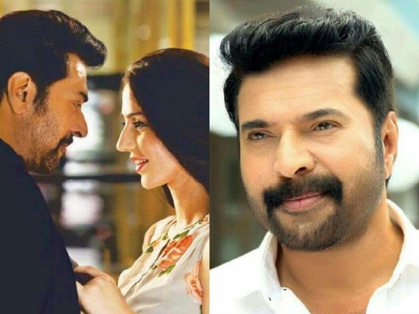 Mammootty Wraps Up 'White'