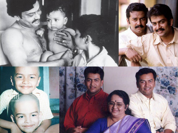 THROWBACK: Adorable Photos Of Prithviraj & Indrajith