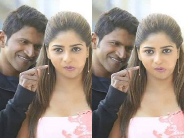 CUTENESS OVERLOADED: Puneeth Rajkumar & Rachita Ram In 'Chakravyuha'