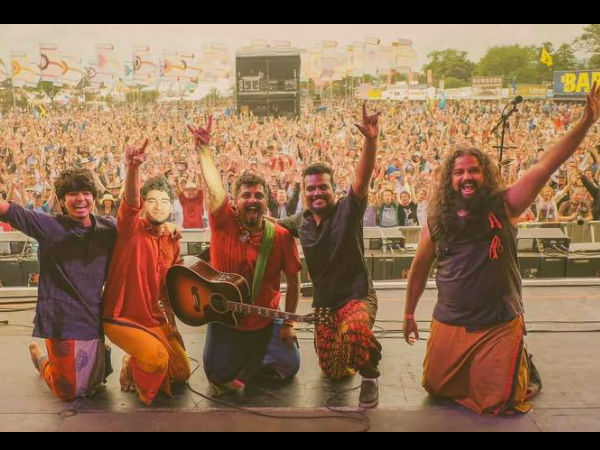 Raghu Dixit Project Mesmerises Udaipur At World Music Festival 2016