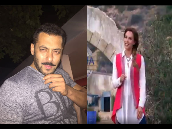 MUST WATCH! Salman Khan Shares A Cute Video Of Iulia Vantur