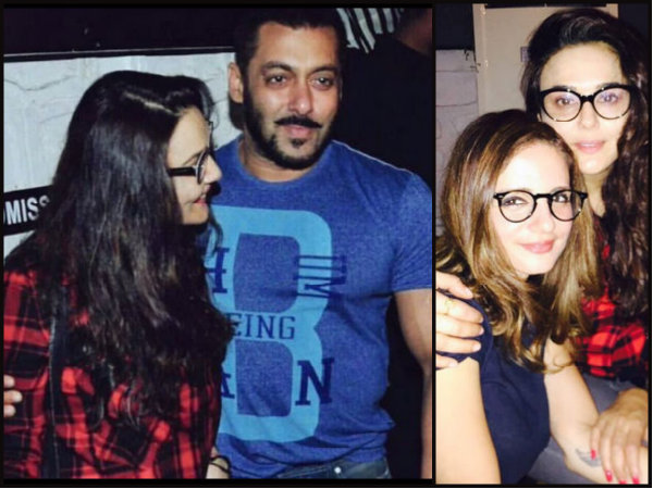 Salman Parties With Sussanne & Preity