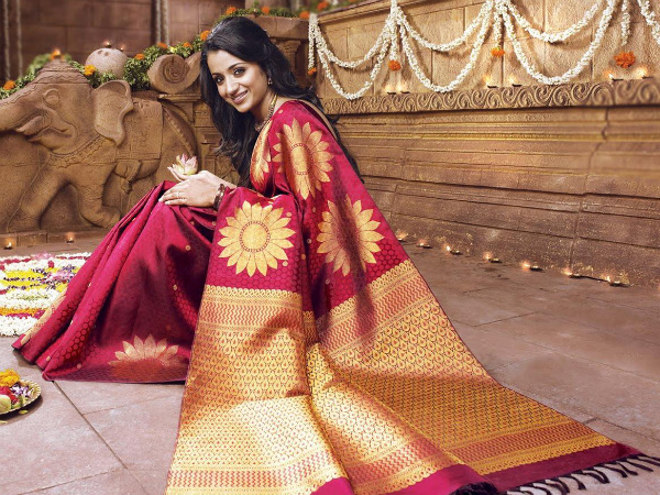 Trisha Gets Ready To Tie The Knot
