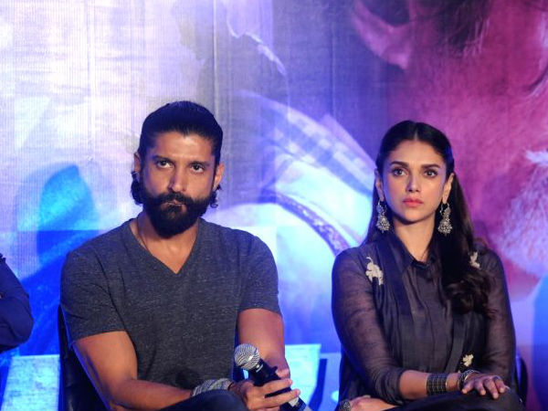 Aditi Rao Hydari Talks About Her Affair With Farhan!