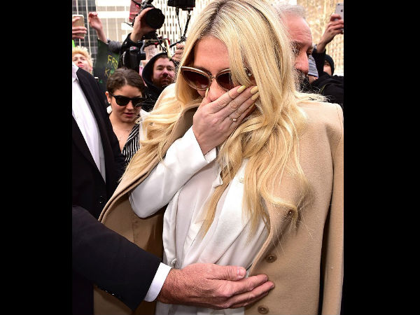 Kesha Breaks Down In Tears After Losing The Sexual Assault Case Against Dr Luke