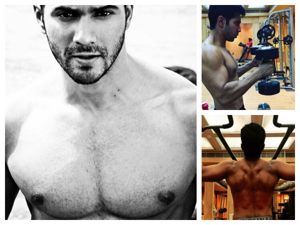 HALF-NAKED Selfies Of Varun Dhawan That Will Arouse You!
