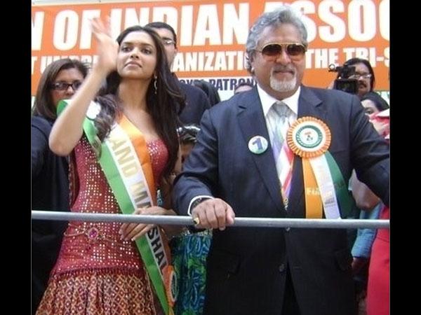 Rare Pictures Of Deepika Padukone Katrina Kaif With Vijay Mallya, Deepika Padukone -3050