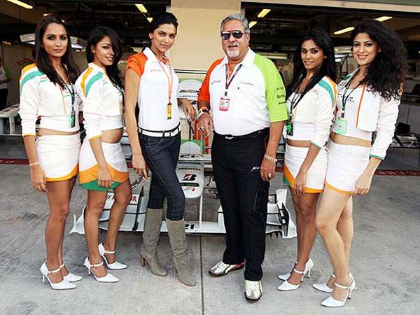 Rare Pictures Of Deepika Padukone Katrina Kaif With Vijay Mallya, Deepika Padukone -9333