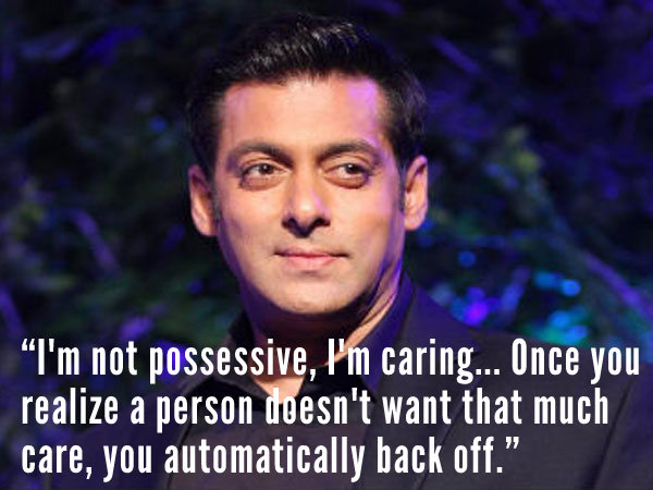 10 Amazing Quotes From Salman Khan Filmibeat He has two brothers arbaaz khan and sohail khan; filmibeat