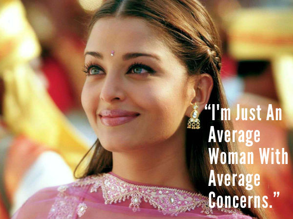 10 Amazing Quotes From Aishwarya Rai, Best Quotes From ...