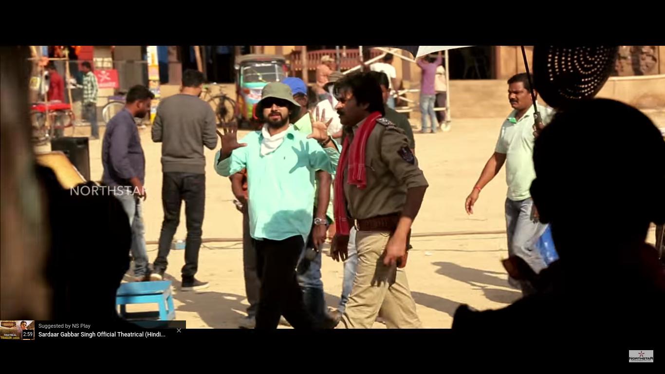 Sardaar Gabbar Singh's New Making Video Portrays Pawan's ...