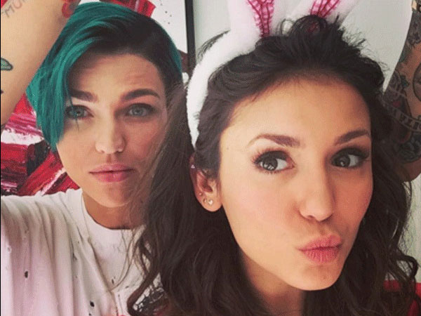 Ruby Rose and Nina Dobrev