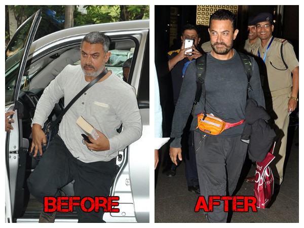 Check Out Aamir Khan's Lean Avatar Post His Weight Loss Trip To USA