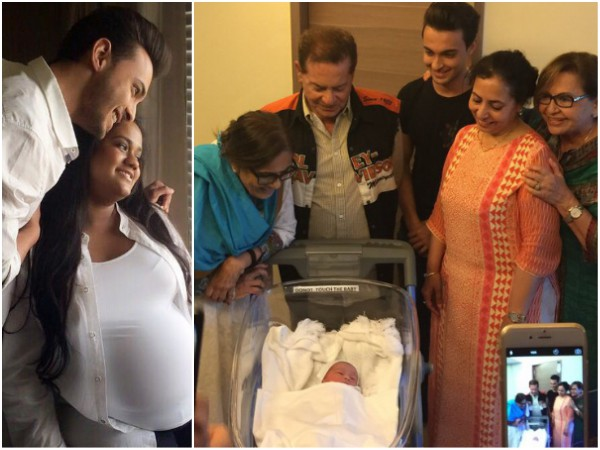 Salman Khan's Sister Arpita Khan Is Blessed With A Baby Boy, Named Ahil!