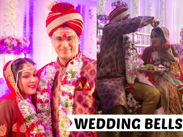 PHOTOS: The 'Rasna Girl' Ankita Jhaveri Marries Vishal Jagtap