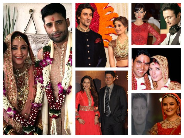 25 Bollywood Celebs Who Had Secret Hush-Hush Weddings
