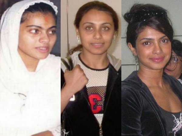 Bollywood Actresses With No Make Up