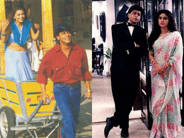 20 pictures of shahrukh khan juhi chawla from raju ban gaya 20 pictures of shahrukh khan juhi chawla from raju ban gaya gentleman filmibeat thecheapjerseys Image collections