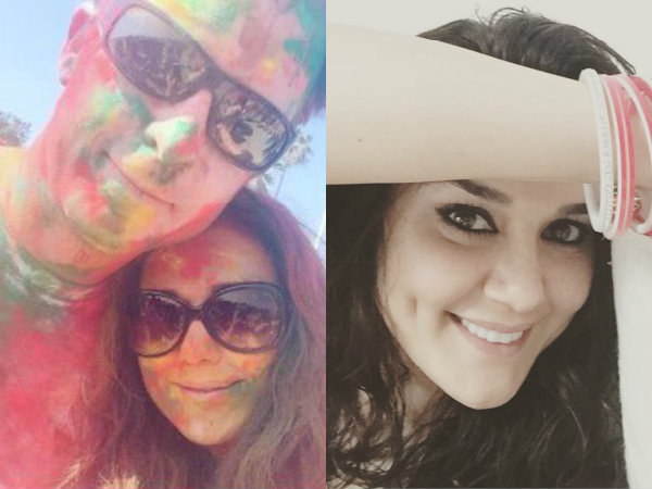 Preity Zinta Celebrates Holi With Husband Gene Goodenough