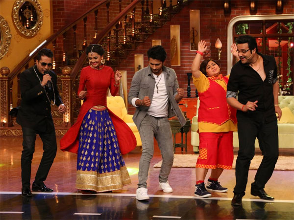 PICS: Swaragini's Ragini & Lakshya Have A Blast On Comedy Nights Live!