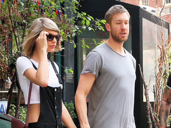 Taylor Swift And Calvin Harris Enjoying Their Vacation