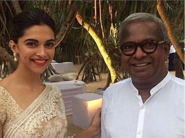 New Pic: Deepika Padukone Goes Desi At Wedding In Sri Lanka!
