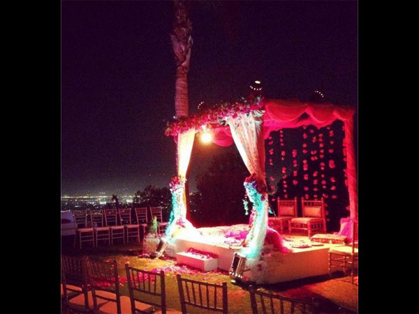 the first picture from Preity Zinta's wedding
