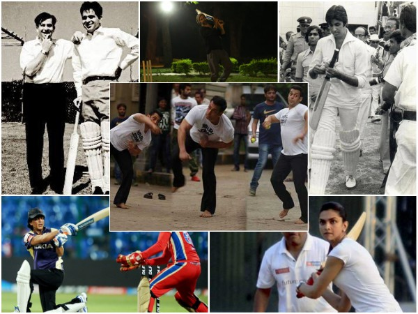Forget Ind Vs WI, See Bollywood Stars Playing Cricket: Salman, SRK, Deepika To Amitabh