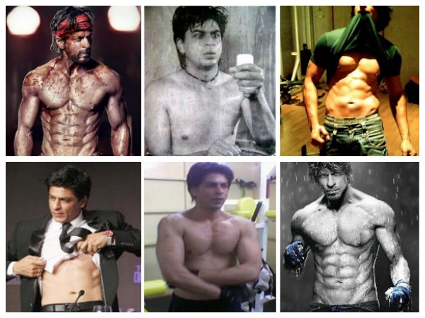 HALF-NAKED Shirtless Pics Of Shahrukh Khan That Will TURN YOU ON!