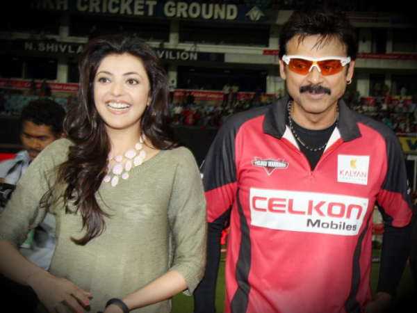 GREAT! Kajal Aggarwal To Pair Up With Victory Venkatesh For The First Time
