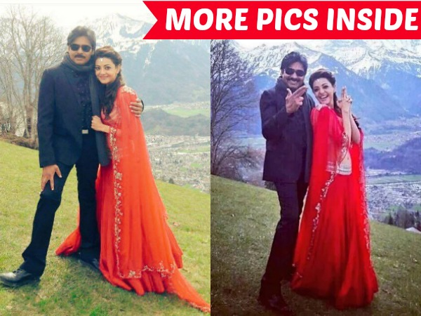 PHOTOS: Its Oozing Chemistry Between Sardaar Pawan Kalyan & His Princess Kajal Aggarwal