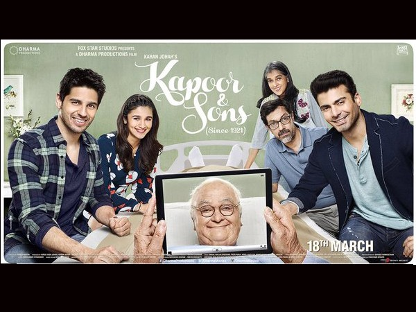 Kapoor And Sons First Day (Opening) Box Office Collection