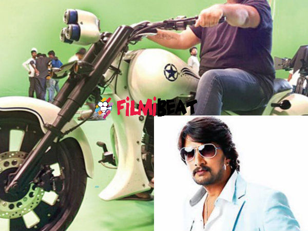 Kichcha Sudeep Goes Vroom Vroom For Mukunda Murari!