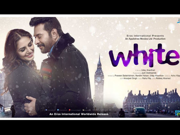 Mammootty's White: First Look Poster Goes Viral