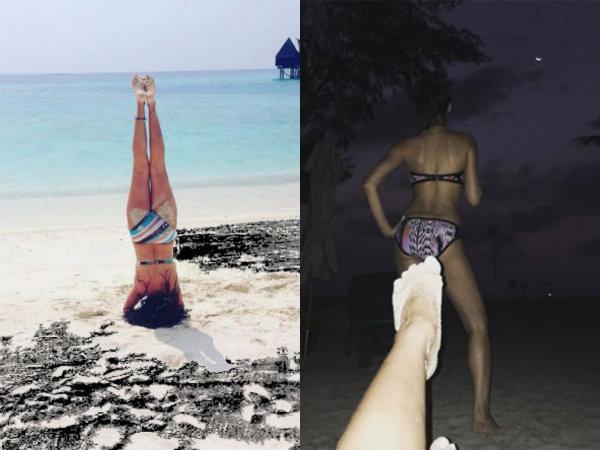 Nargis Fakhri & Mini Mathur Share Weird Bikini Pictures!