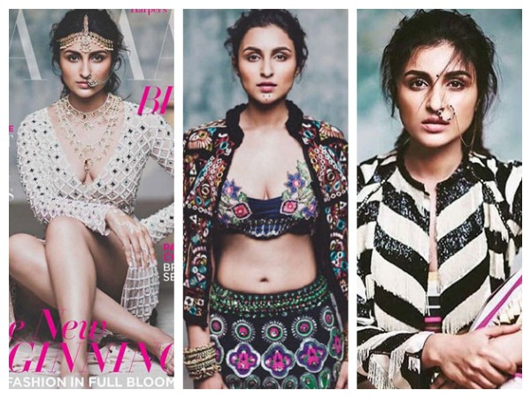 Parineeti Chopra's New Steamy Photoshoot For Harpers Bazaar