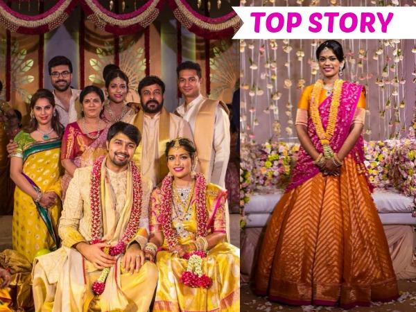 6e43331ce10e PHOTOS  Chiranjeevi s Daughter Srija And Kalyan s Marriage Celebrations