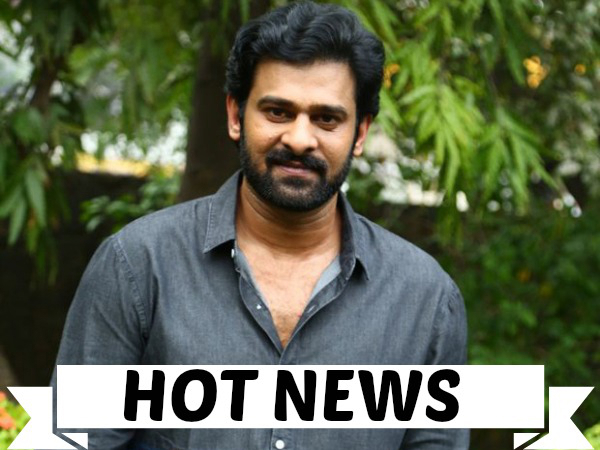 OH WOW! Prabhas Puts A Musical Entertainer In The Pipeline