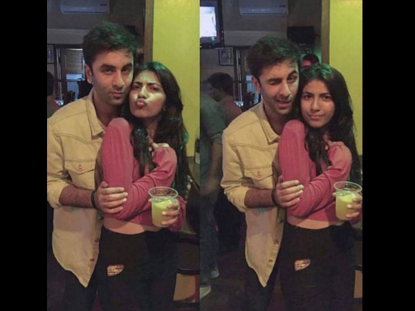 Ranbir Kapoor Parties With A Mystery Woman