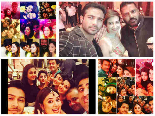 PICS: Rashmi Sharma's Birthday Bash: Helly, Tejaswi, Namish, Varun, Sara, Dipika & Others Attend!