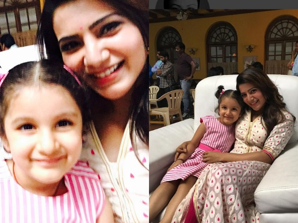 CUTENESS OVERLOAD! Samantha Plans For A Play Date With Mahesh Babu's Daughter Sitara