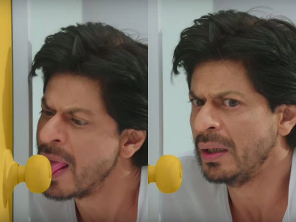 Shahrukh Khan Frooti Commercial Doorknob