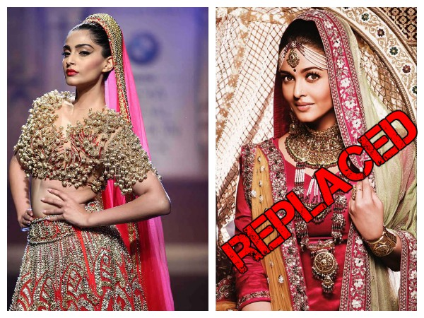 Aishwarya Rai Out! Kalyan Jewellers Replace Her With Sonam Kapoor As Brand Ambassador